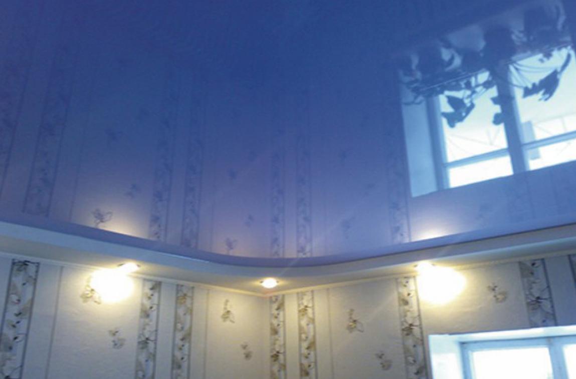 Лаковые натяжные потолки СПб