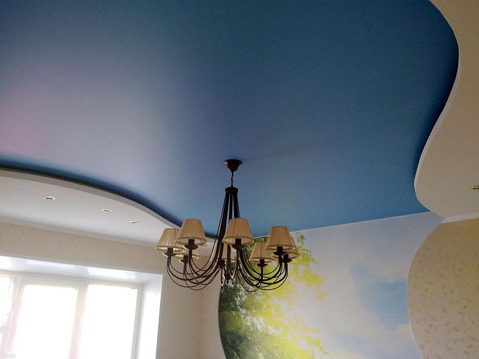 Cатиновые натяжные потолки СПб
