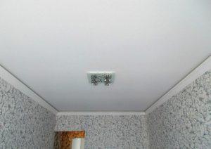 Матовые натяжные потолки 8