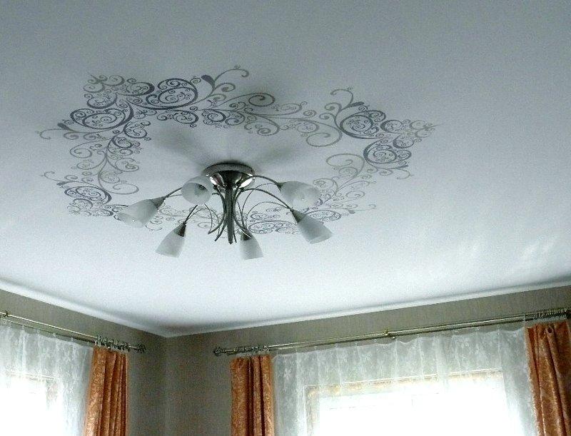 Тканевые потолки в зал