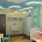 Натяжные потолки в детскую — прекрасный выбор для жителя Кишинёва