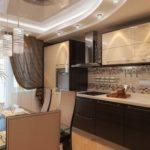 Натяжные потолки на кухню в Кишинёве