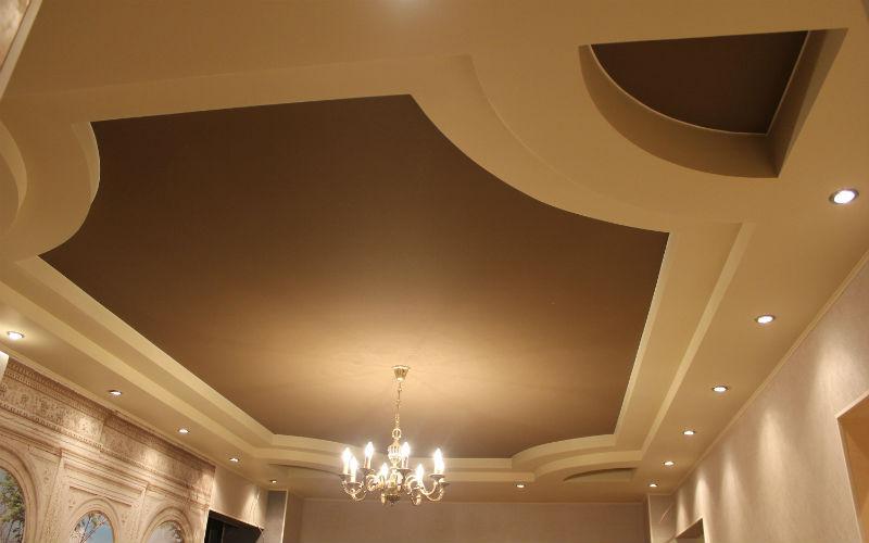 тканевые натяжные потолки 3