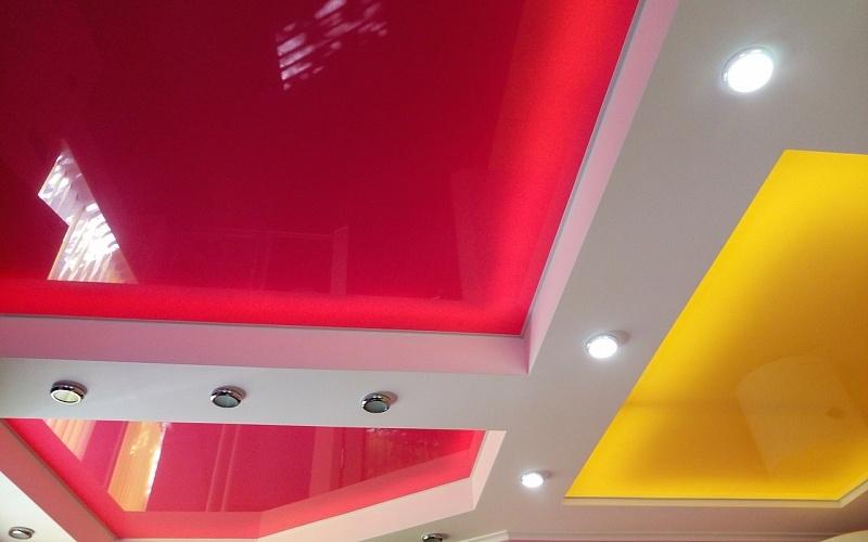 Многоуровневый потолок 4