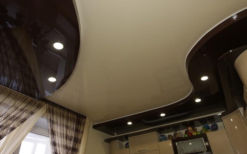 Многоуровневый потолок 8