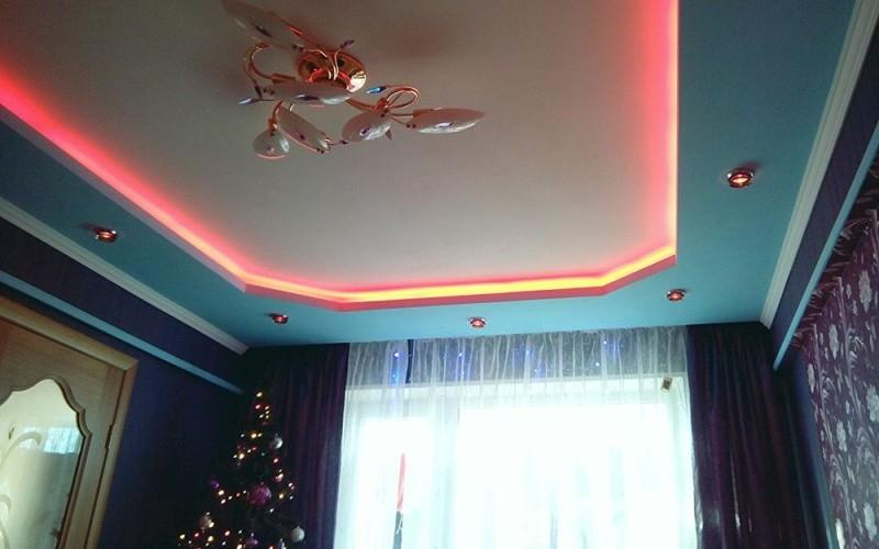 Многоуровневый потолок 9