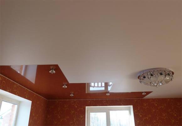 Матовые натяжные потолки 5