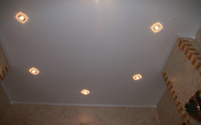 Сатиновые потолки 4