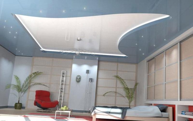 Светопрозрачные натяжные потолки 2