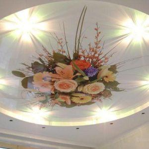 Цвета и рисунки натяжных потолков 3