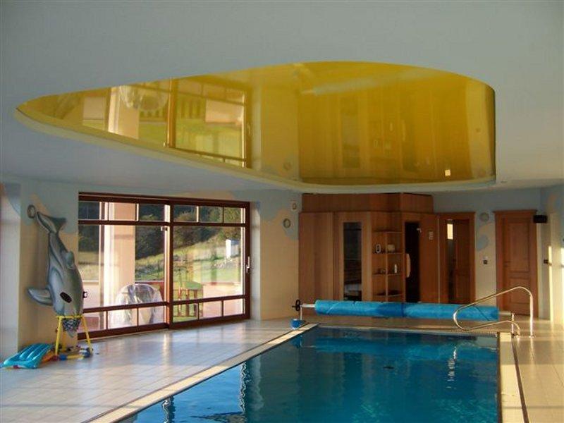 натяжные потолки в бассейне СПб 2
