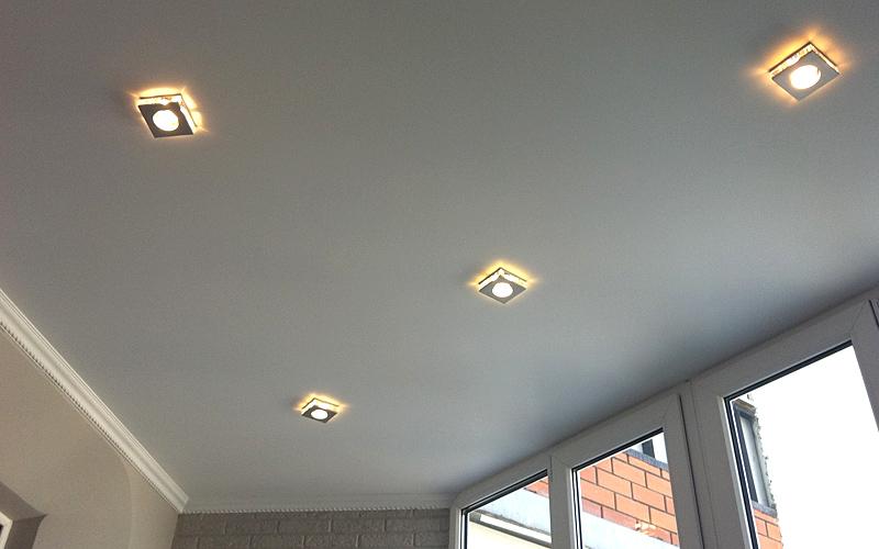 тканевые натяжные потолки 6