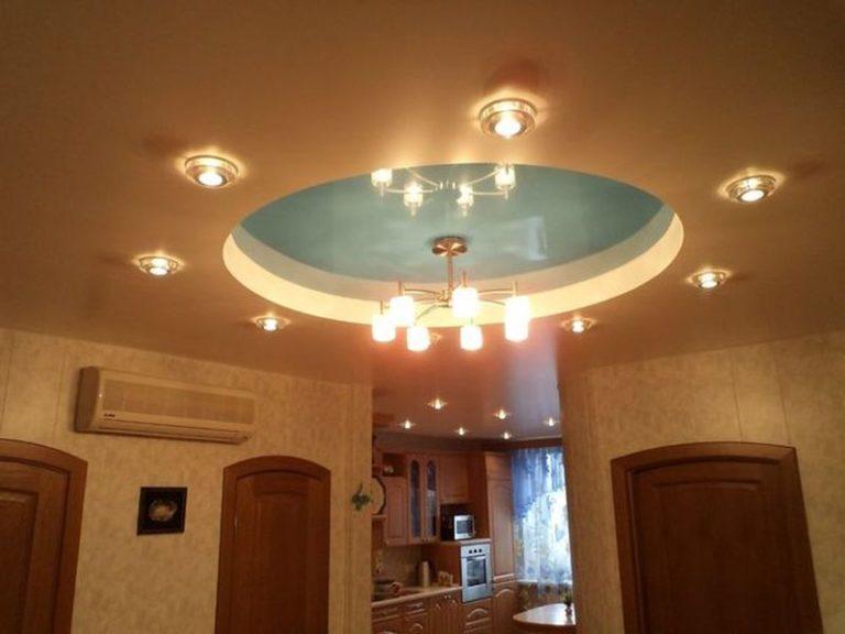 Двухуровневые натяжные потолки в Кишиневе