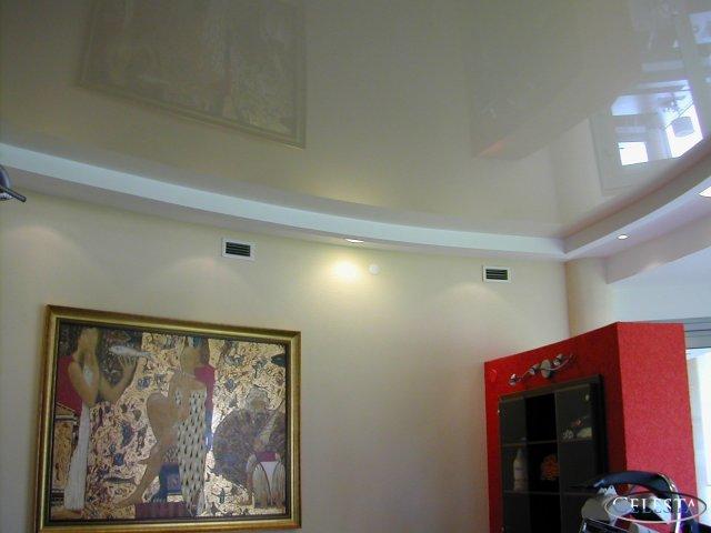 Квартиры с натяжными потолками