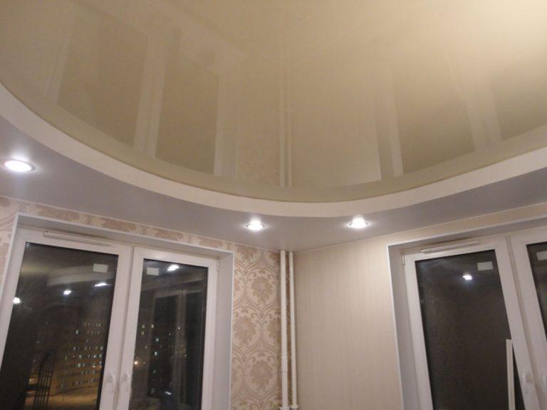 Фото наших работ - Натяжные потолки в гостиную